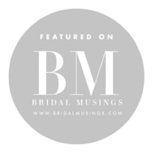 bridal musing feature wedding blog