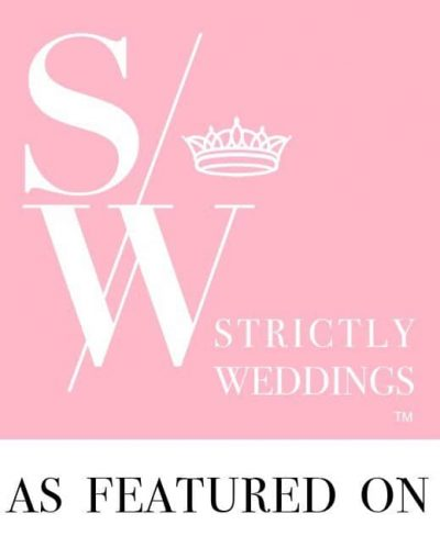feature on strictly wedding