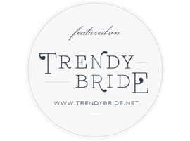 feature on trendy bride