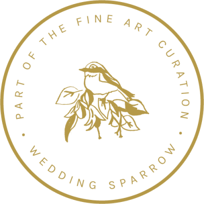 Fine Art Curation membership badge samantha bottelier events wedding sparrow