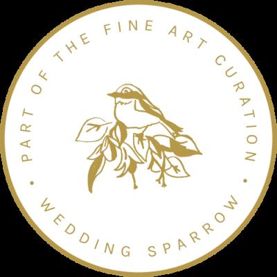 Fine Art Curation membership badge samantha bottelier events wedding sparrow