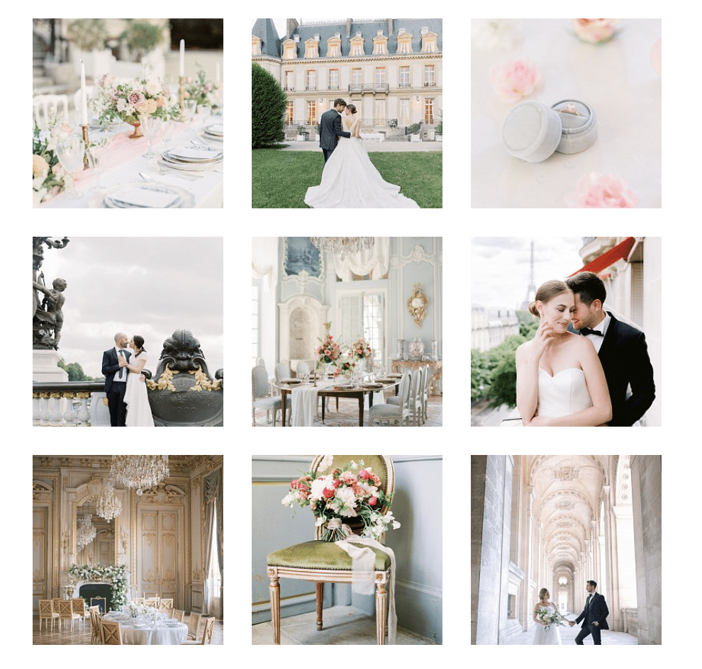 Wedding planner Paris france Samantha bottelier events